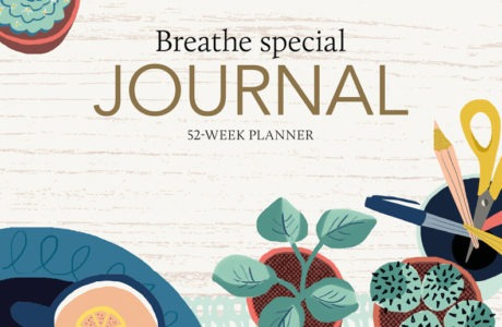 Breathe Special Journal-52 Week Planner
