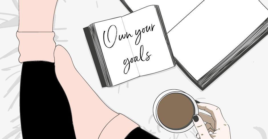 Breathe magazine own your goals